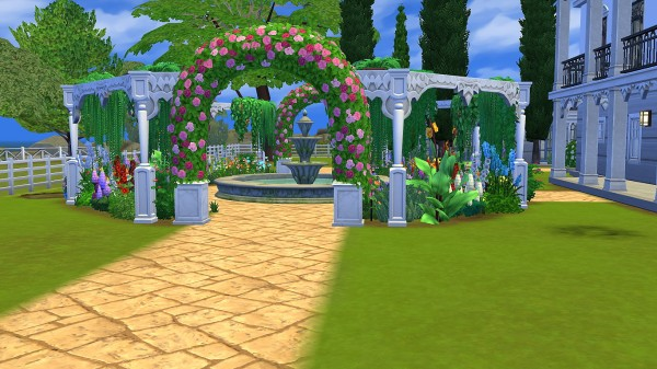 Mod The Sims: Nottoway House by royalsims85