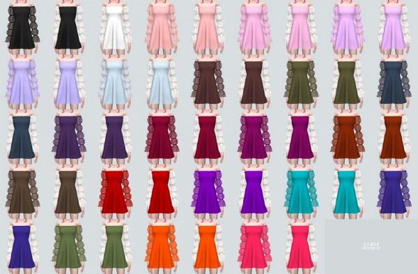 SIMS4 Marigold: Fantastic Mini Dress