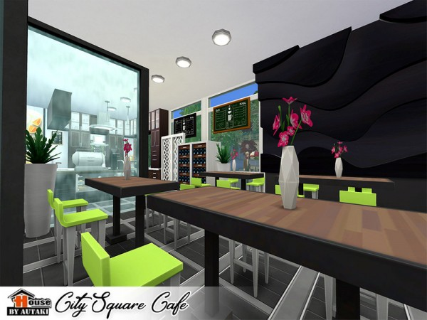 The Sims Resource: City Square Cafe by autaki