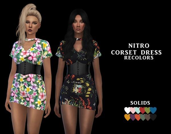 Leo 4 Sims: Corset Dress RC