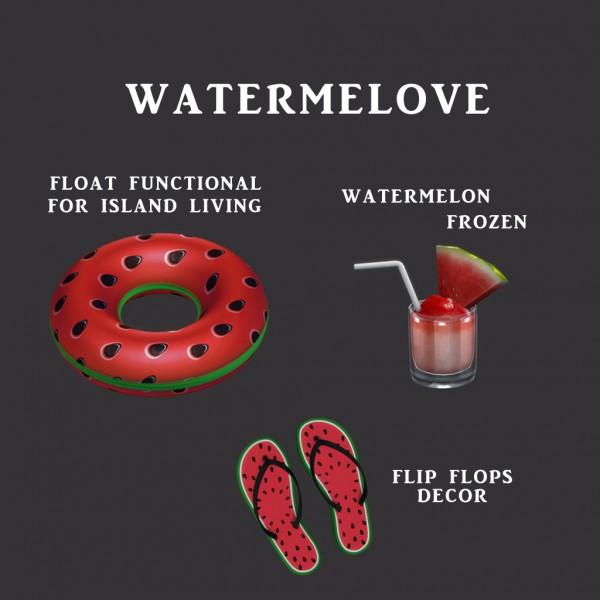 Leo 4 Sims: Watermelovev 2