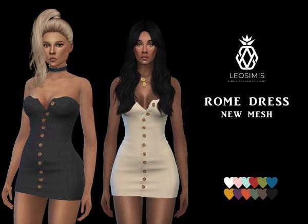Leo 4 Sims: Rome Dress