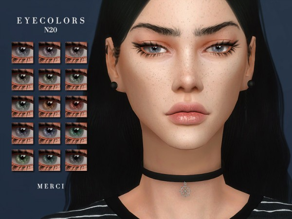 The Sims Resource: Eyecolors N20 by Merci