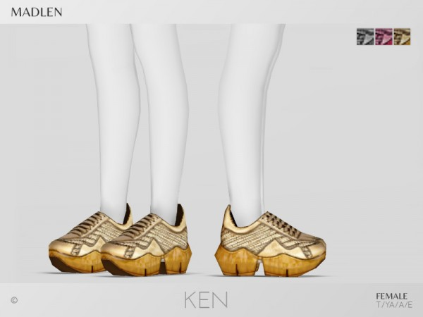 The Sims Resource: Madlen Ken Shoes by MJ95