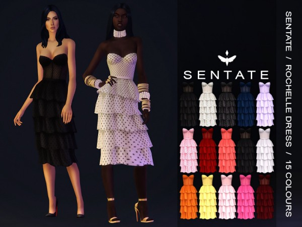 The Sims Resource: Rochelle Dress by Sentate