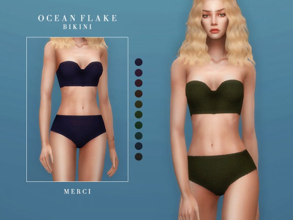 The Sims Resource: Ocean Flake Swimwear by Merci