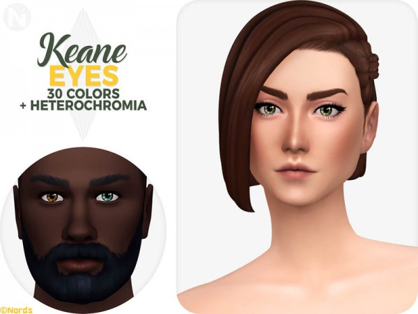 The Sims Resource: Keane Eyes by Nords