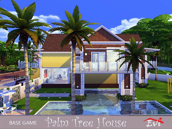 The Sims Resource: Palm Tree House by evi