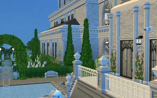 Mod The Sims: Luxury Hollywood Mansion by catdenny