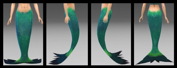 Mod The Sims: FinTwo Without Side Fins by NintendoLover13