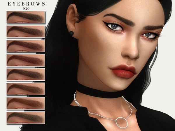 The Sims Resource: Eyebrows N20 by Merci