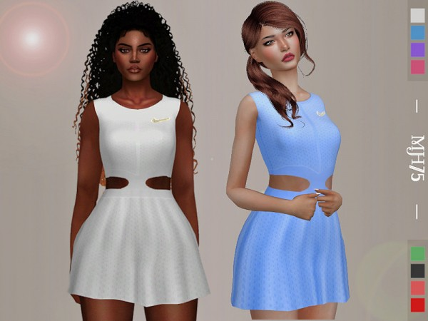 The Sims Resource: Serena Wimbledon Dress by Margeh 75