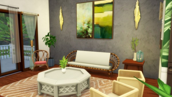 Sims Artists: Exotic stay