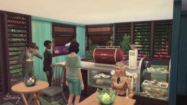 Gravy Sims: Overgrown Cafe