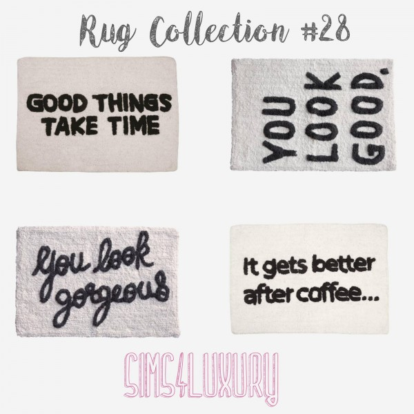 Sims4Luxury: Rug Collection 28