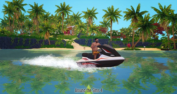 Around The Sims 4: Scuba diving and surf club