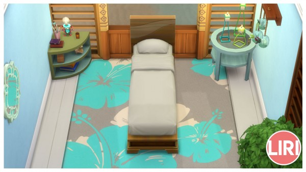 Mod The Sims: Drift Away Bed Separated by Lierie