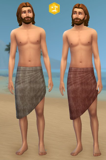 Blackys Sims 4 Zoo: Skirt Fur 1 by mammut