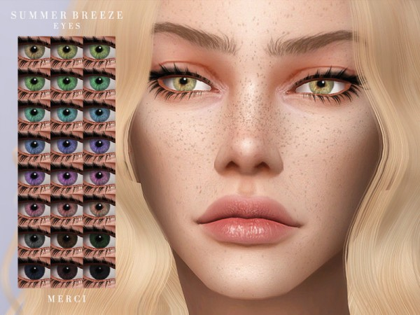 The Sims Resource: Summer Breeze  Eyes by Merci