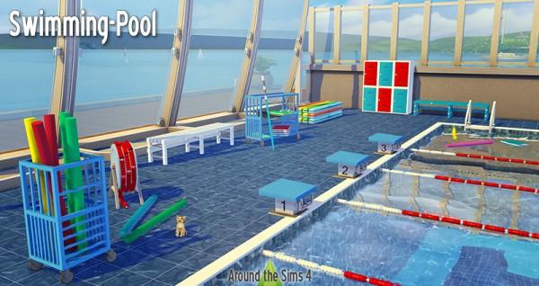 Around The Sims 4: Swimming pool