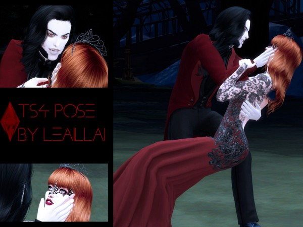 The Sims Resource: Couple poses by LeaIllai