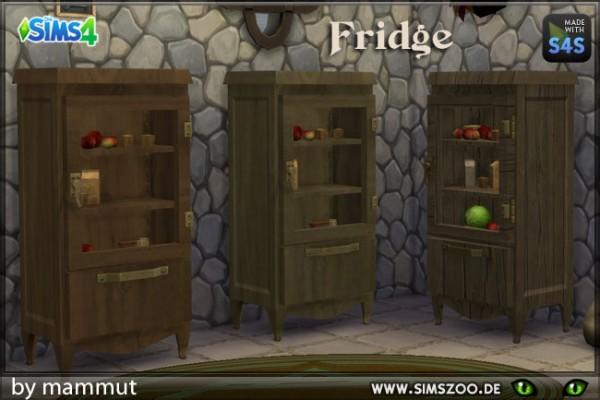 Blackys Sims 4 Zoo: Fridge by mammut