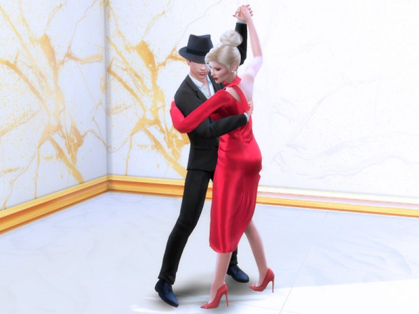The Sims Resource: Couple pose   tango by LeaIllai
