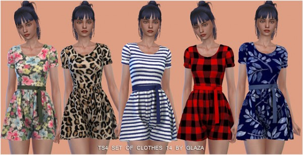 All by Glaza: Set of Clothes 14