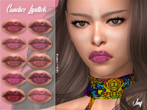 The Sims Resource: Candice Lipstick N.197 by IzzieMcFire