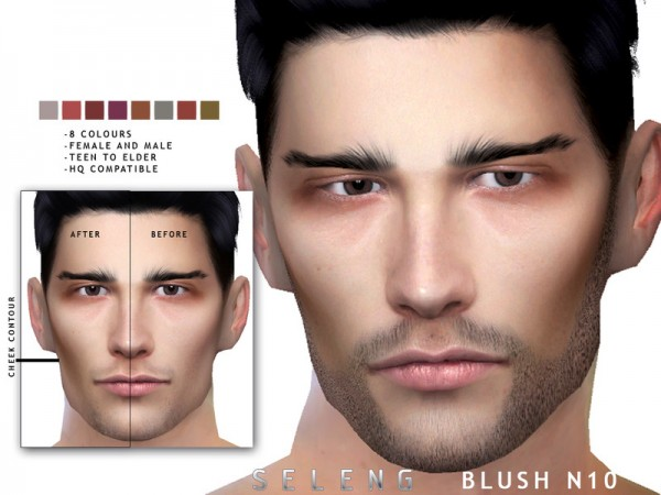 The Sims Resource: Blush N10 by Seleng