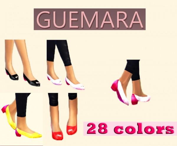 Guemara: Bicolor shoes