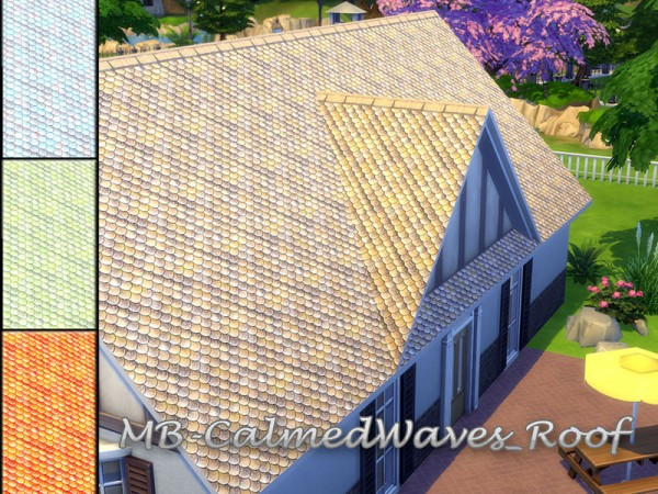 The Sims Resource: Calmed Waves Roof by matomibotaki