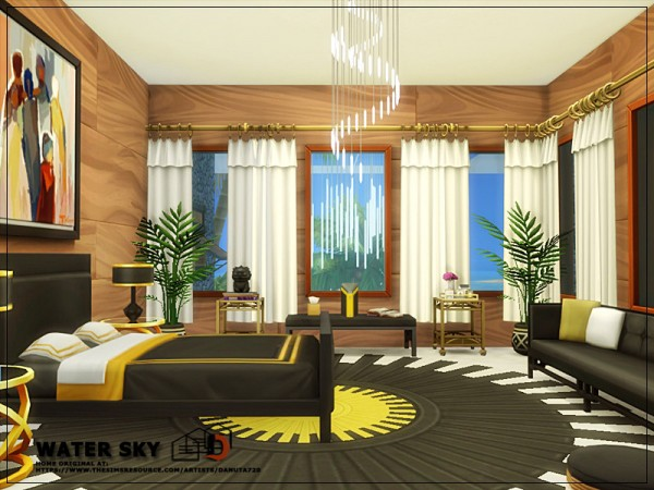 The Sims Resource: Water Sky House by Danuta720