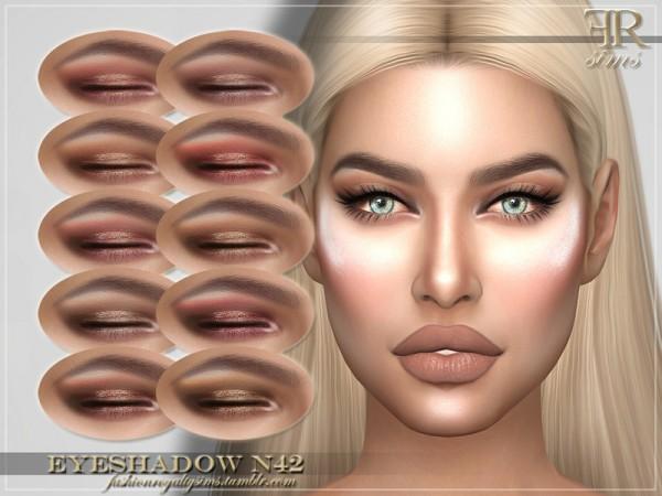 The Sims Resource: Eyeshadow N42 by FashionRoyaltySims