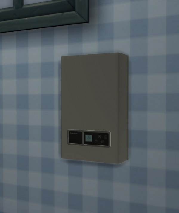 Mod The Sims: Functional solar panels and water heater by Sigma1202