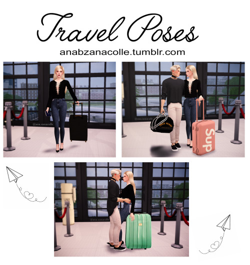 Ana Zanacolle: Travel poses