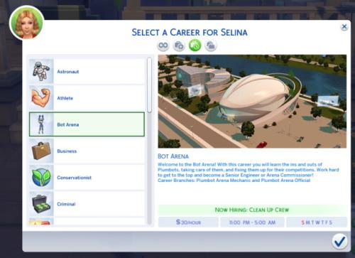 Mod The Sims: Bot Arena Career by claudiasharon