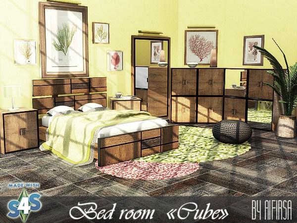 Aifirsa Sims: Bedroom Cube