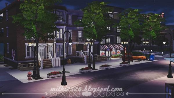 Milki2526: Apartments San Mishuno (No CC)