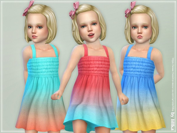 The Sims Resource: Dresses Collection P108 by lillka