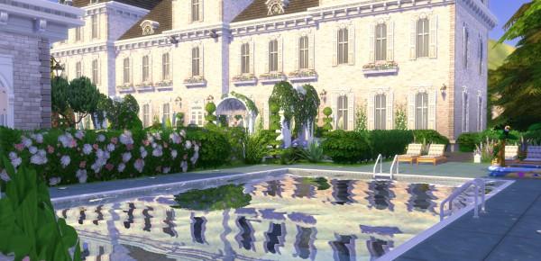 Mod The Sims: Castelo de Cheverny (based) No CC by ...