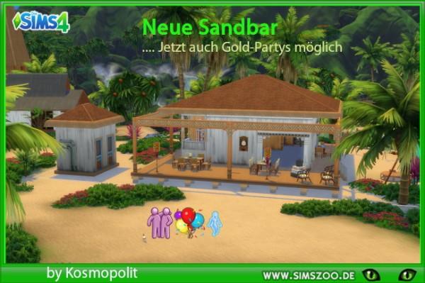 Blackys Sims 4 Zoo: New Sandbar by Kosmopolit