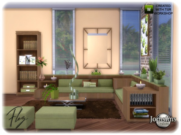 The Sims Resource: Flez livingroom by jomsims
