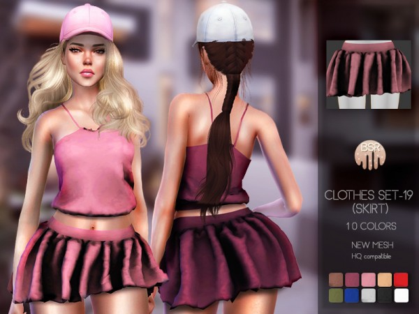 The Sims Resource: Clothes SET 19 BD85 skirt by busra tr