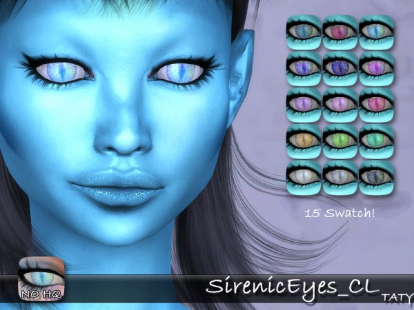 The Sims Resource: Sirenic Eyes by Taty