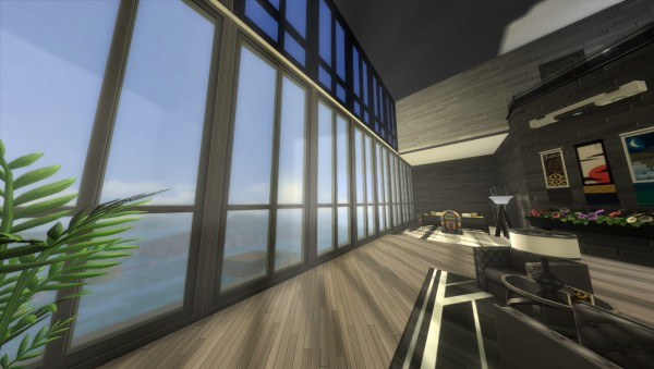 Mod The Sims: Cyberpunk Penthouse by LunarGuest