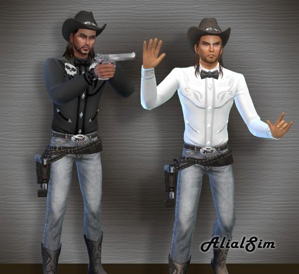 Alial Sim: Western Outfit