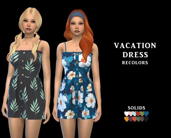 Leo 4 Sims: Vacation Dress