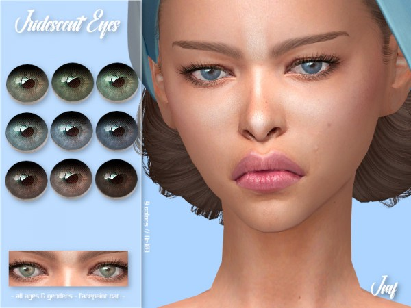 The Sims Resource: Iridescent Eyes N.103 by IzzieMcFire