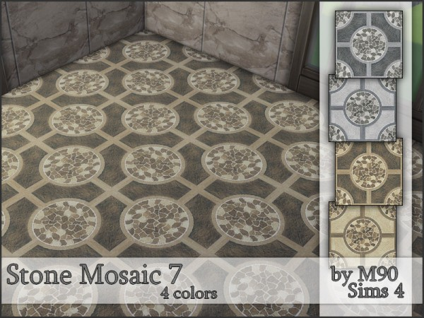The Sims Resource: Stone Mosaic 7 by Mircia90